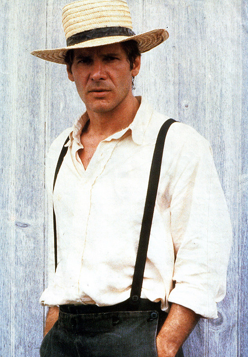 cinecat:  Promo shot of Harrison Ford for Witness (1985)