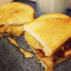 PB & J on a #slowcarb #cheatday.