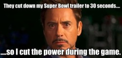 Tony Stark fooled you all!