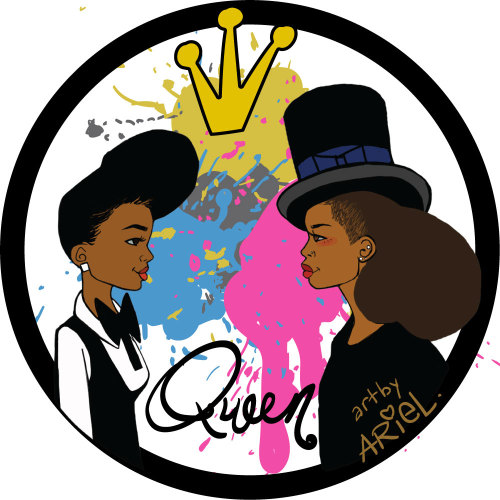 Queen 2013. Art by KeturahAriel.com @janellemonae @fatbellybella
