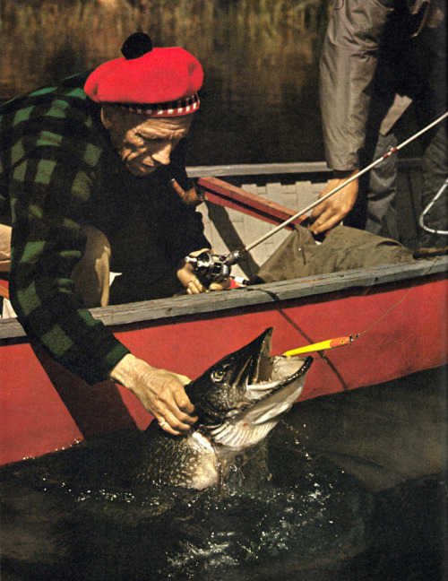 oldfishingphotos:  Source: The Fisherman's World by Charles F. Waterman, 1971