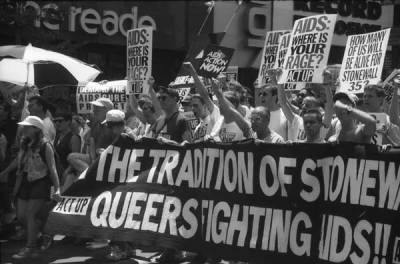 In the tradition of stonewallNYC Pride Parade March, June 1994