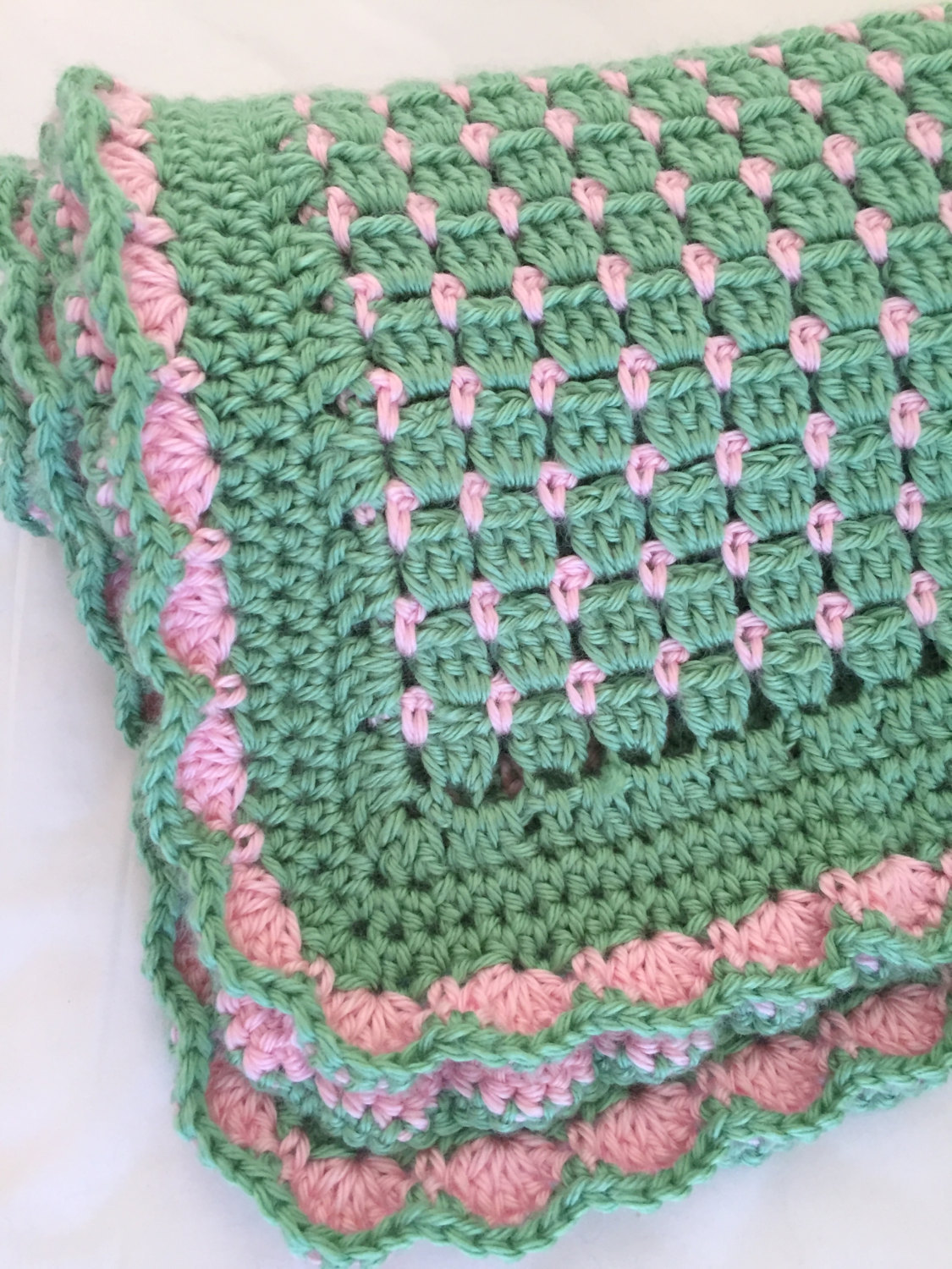 Very Easy Knitting Patterns For Baby Blankets : Crochet and Knitting Patterns   Crochet baby blanket ...