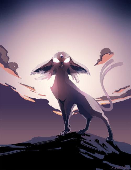 the-pokemon-gallery:  Artist Feature - {Eeveelutions by Serain}