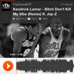 K. Lamar really got fools hella utilizing the rewind button on this one!