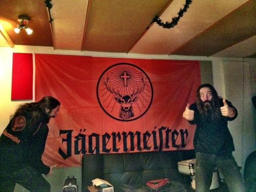 Some in-studio inspiration from Jagermeister