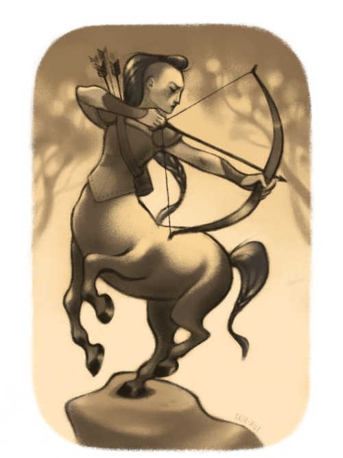 skimmilks:  30 day monster girl challenge Day 2: Centaur