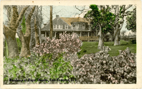 Residence of Ruger Donoho, East Hampton, L.I.