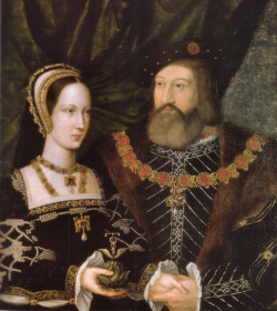 fuckyeahtudorwomen:  born—to—resist:  CHARLES BRANDON & MARY TUDOR married on 13 may 1515 at Greenwich Hall (after being married in secret on 5 march 1515)