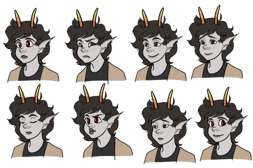 Adult Feferi icons for an AU event at an RP. I kind of like them, but mostly I'm just glad they're DONE.