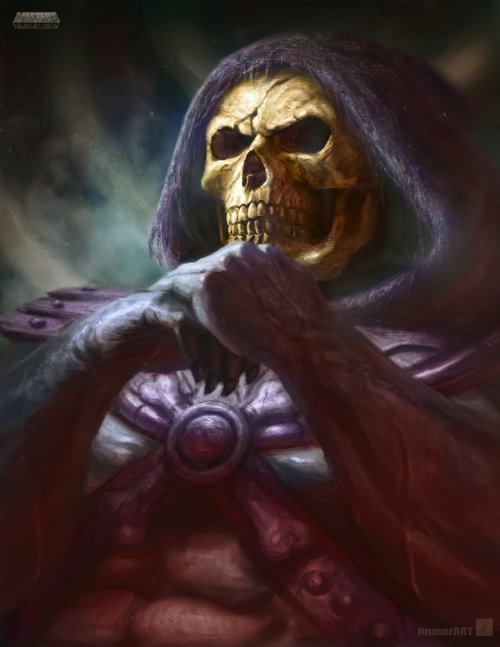 Skeletor by *ImmarArt