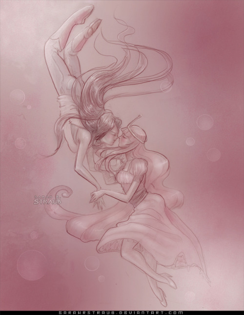 """A Pink Dream"" - Bubblegum and Marceline Facebook Fan Page 