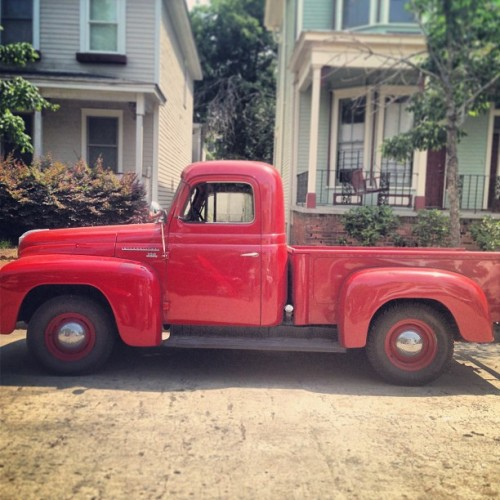 Old #vintage #truck in #savannah #georgia