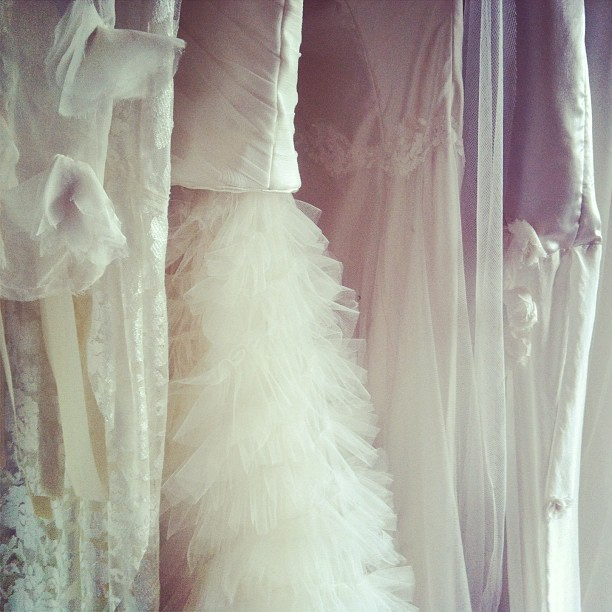 Another little BTS from our shoot for the new Begitta Bridal Collection! #wedding #bridal #begittabridal #begitta