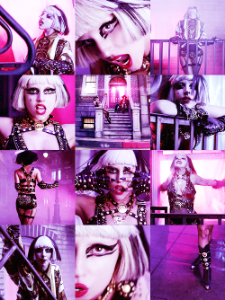 """I'm on The Edge of Glory and I'm hanging on a moment of truth"""