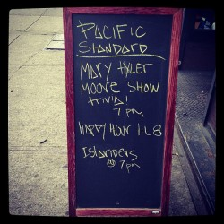 At Pacific Standard in #Brooklyn for #MTM #trivia hosted by Jen Armstrong, author of MARY AND LOU AND RHODA AND TED! Hope it gets competitive!