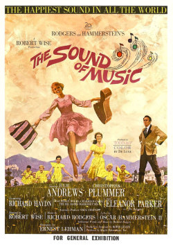 "The Sound of Music (film) - Wikipedia, the free encyclopedia  Just noted in passing:  ""The Sound of Music Theme"" ""Maria"" ""I Have Confidence"" ""Sixteen Going on Seventeen"" ""My Favorite Things"" ""Do-Re-Mi"" All six songs were introduced in the first sixty minutes of The Sound of Music.  If, like me, you're not a skilled mathematician, let me share some casual cipherin' that this averages out to one classic standard of popular music per ten filmed minutes.  That's…insane."