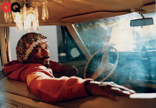 Snoop Lion for GQ, January 2012