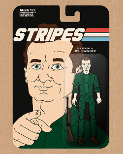Stripes Action Figure by Derek Eads Available at my Society6 shop, free shipping thru December 9th with this link.