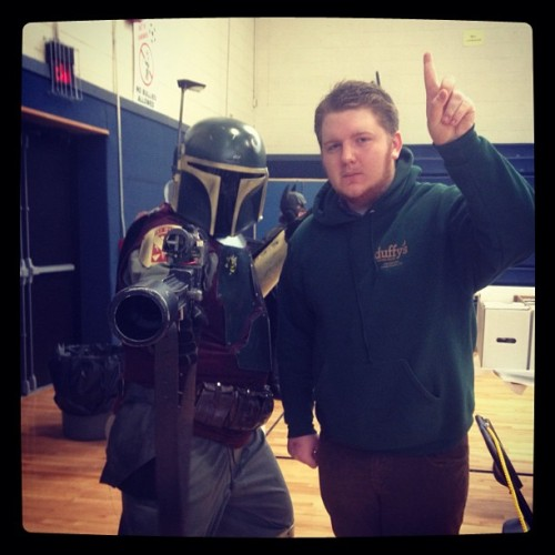 I once hung out with #BobaFett. Cool stuff!