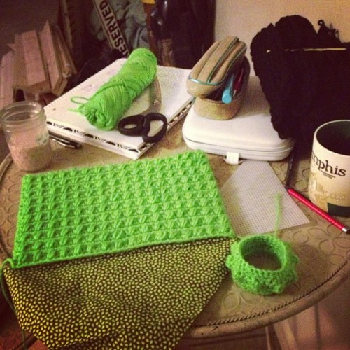 Working on purses! #crochet #yarn #fashion #purse #handmade  (at Crochet Castle Dos)