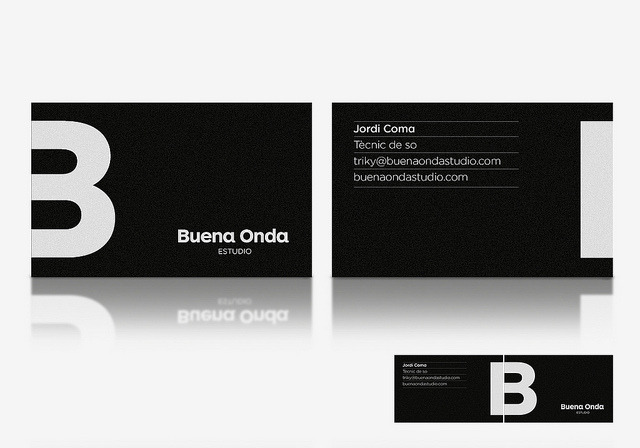 Buena Onda Recording Studio business cards on Flickr.
