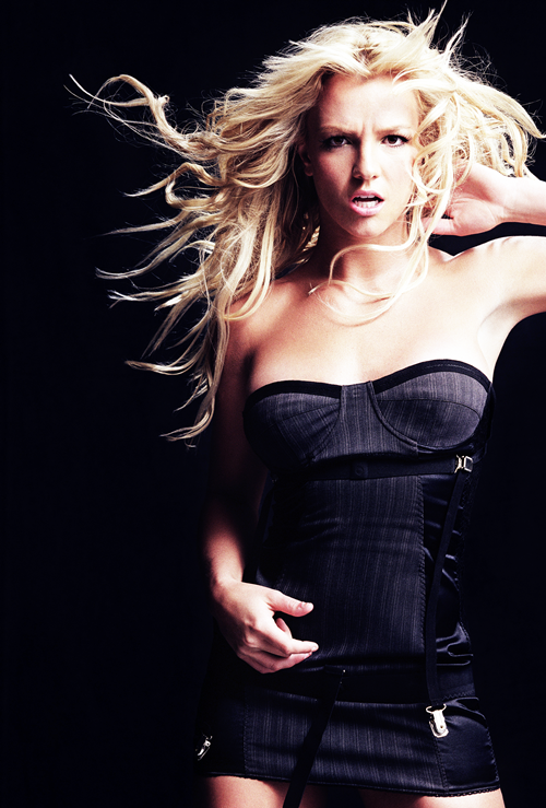 Britney photographed byJames White, 2003