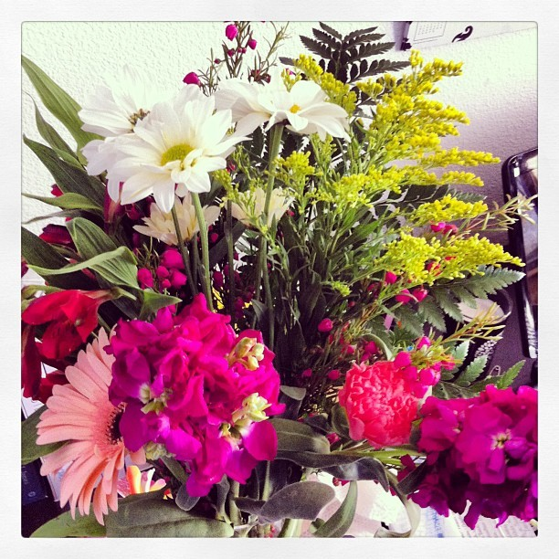 Aw I love my Beech Boys! #best #clients #facility #flowers #goodbye #gift