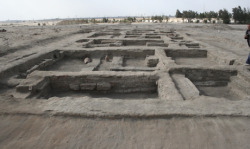 Ancient Roman industrial area excavated in Egypt - includes workshops, galleries, and residential area. (via Roman industrial area uncovered in Egypt's Suez Canal - Greco-Roman - Heritage - Ahram Online)