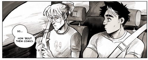 bigbigtruck:  Update for Tuesday, April 30, 2013: Pages 392 and 393 (Chapter 37 pages 13 and 14)  Yeah, I know we talked about this like 80 pages ago; I just wanna make sure it's still on the table.   sorry for forgetting to put this one here last week!