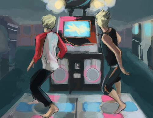 jaboody:  tweedvest:  Dance Dance Revolution A.K.A. Tunnel Vision: The Game …they're playing Butterfly. And they're playing barefoot because they're dumb or they're trying to prove how hardcore they are.  pretty sure they'd be the freaking world champs