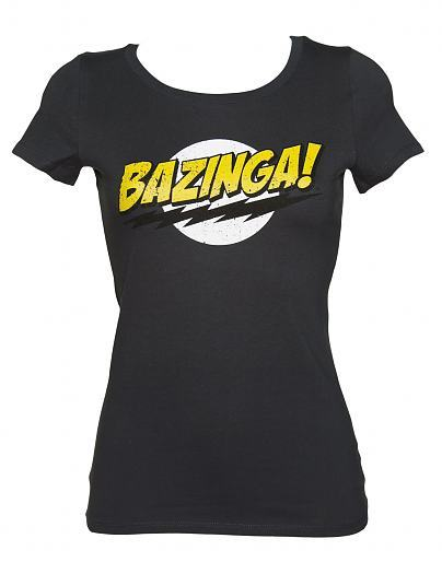 New Ladies Bazinga T-Shirt now in! Now even the ladies can burn people the clever pranks - thanks to this amazing ! You would definitely get a nod of approval from Sheldon….or maybe not! xoxo