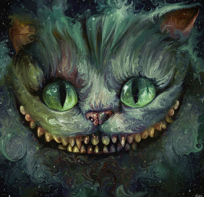 cinnamonandblueberrytea:  The Cheshire Cat