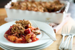 Plum and Peach Cobbler-7 by Sonia! The Healthy Foodie on Flickr.
