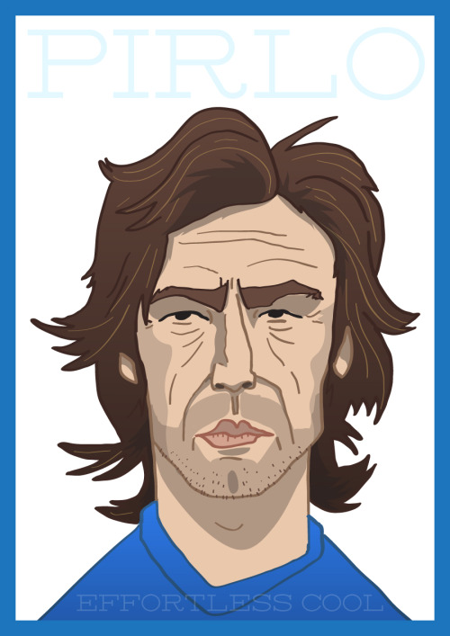 Andrea Pirlo. Effortless Cool. PURCHASE HERE