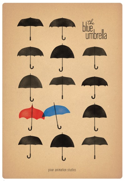 storyboard:  'The Blue Umbrella': Inside a Pixar Love Story The process began on one of those unusually rainy but otherwise ordinary California days. Pixar camera and staging artist Saschka Unseldwas walking through downtown San Francisco. Something caught his eye. He looked down, studying more closely an object stuck in the gutter in front of him.   Read More