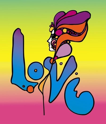 Art by Peter Max, 1960s