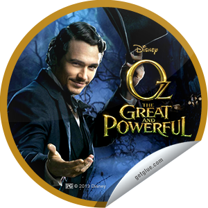 I just unlocked the Oz The Great and Powerful Box Office sticker on GetGlue                      3292 others have also unlocked the Oz The Great and Powerful Box Office sticker on GetGlue.com                  There's no place like Oz. Thank you for seeing Oz The Great and Powerful in theaters and for checking-in.  Share this one proudly. It's from our friends at Disney.