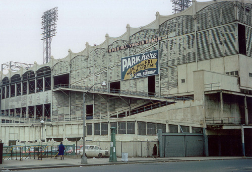rogerwilkerson:  By request… Polo Grounds - 1958