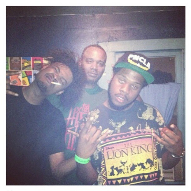fattonyrap:  Last night w/ rap experts @xdannyxbrownx & @ogronc in the H