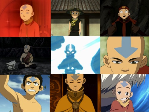 "avatar:the last airbender alphabet ↳B is for the Boy in the iceburg ""you're an airbender!"""