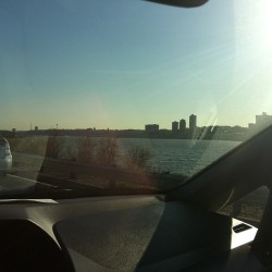 Driving around… #nyc  (at the view)