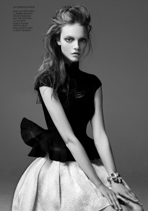 zerographical:  Nimue Smit by Bojana Tatarska (Happy Girls - Glass #12 Winter 2012-2013)