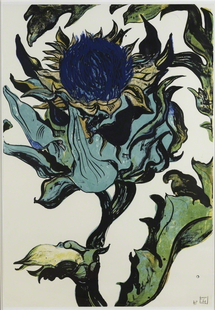 andrewharlow:  Sarah Graham Artichoke 1 and 2, 2010Lithograph