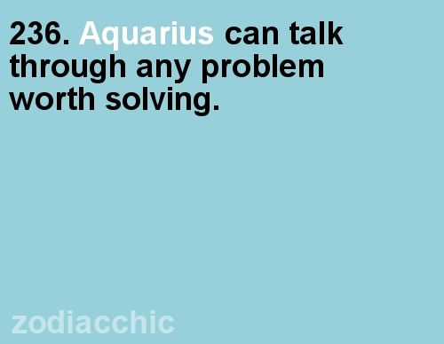 zodiacchic:  ZodiacChic Post:Aquarius