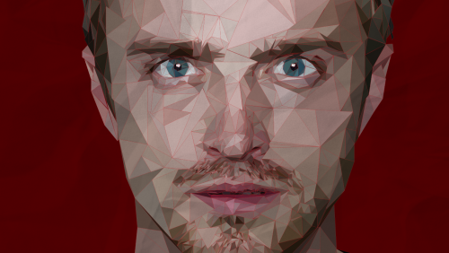 breakingbadamc:  Jesse Pinkman vector art, bitch by Lynne Carty    My friend on Breaking Bad's tumblr!