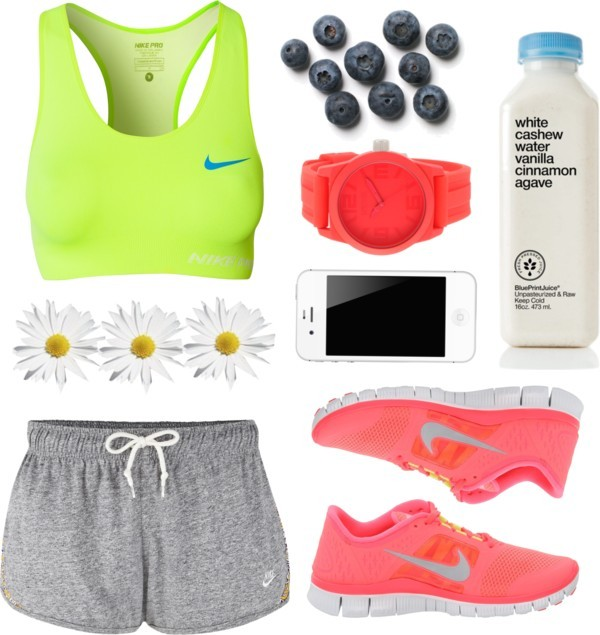 thepolyvorecollection:   Gym Day by vv0lf featuring nike