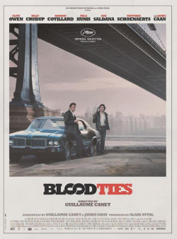 Official poster for Guillaume Canet's Blood Ties