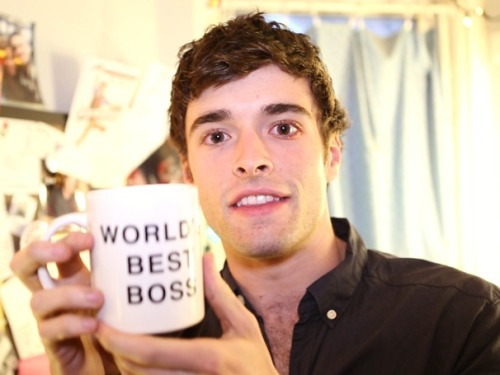 broadwaycom:  Corey Cott draws inspiration from Mark Rylance, Justin Timberlake & more backstage at NEWSIES