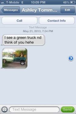 that's fuuuny. haha that is my truck :D